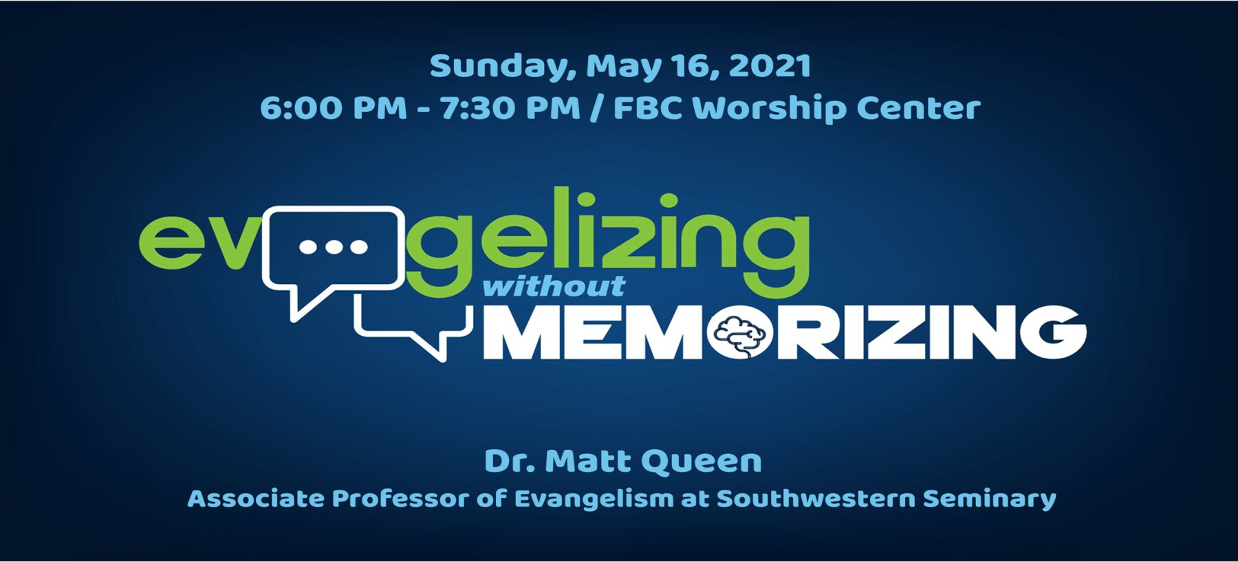 Evangelizing without Memorizing Workshop